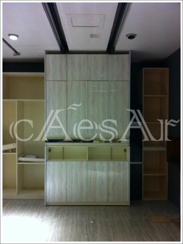 凯撒EC机组应用于自动门式衣柜案例