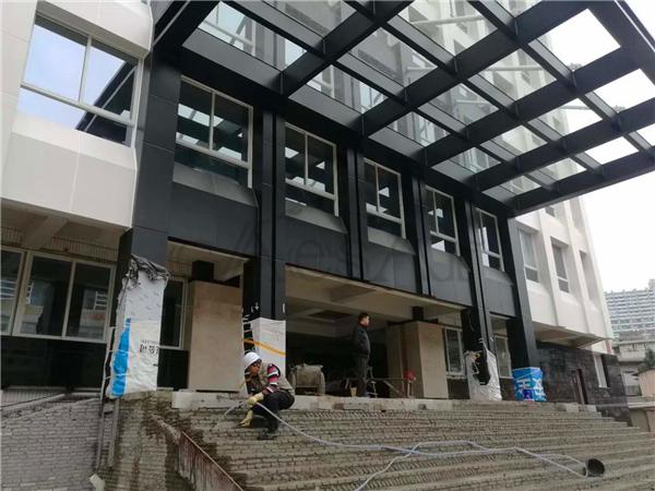 广东省质量技术监督局由我司完成自动门施工安装
