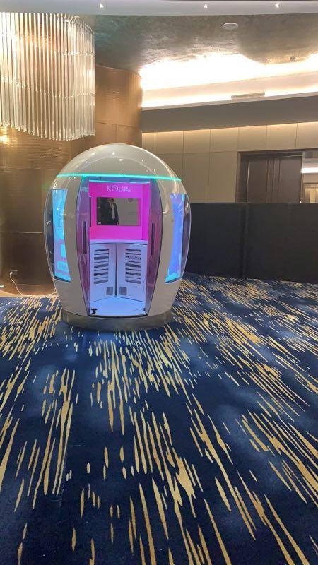 鹅蛋型–用于无人售货亭的自动门