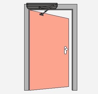 自动平开门
