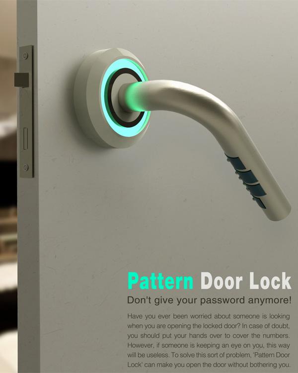 【概念新知】隐藏式盲文锁(Pattern Door Lock)
