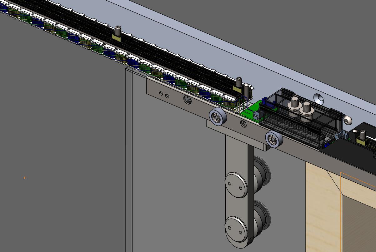 MS100 磁悬浮平移自动门驱动装置