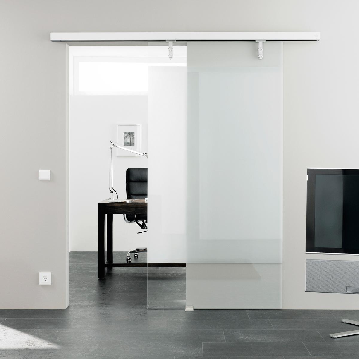 磁悬浮玻璃自动门