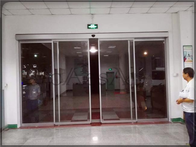 工厂办公室大门改造
