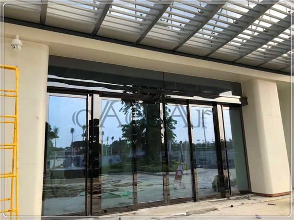 【案例精选】增城丰乐总部大堂自动门正式完工