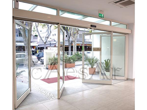 与门窗装修公司合作,哪些自动感应门会比较受欢迎