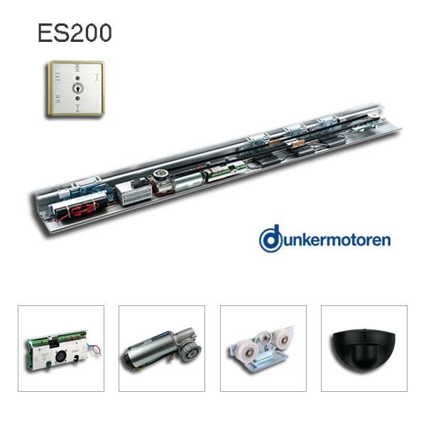 墨西哥自动感应门经销商第20次购买凯撒ES200无导轨配置