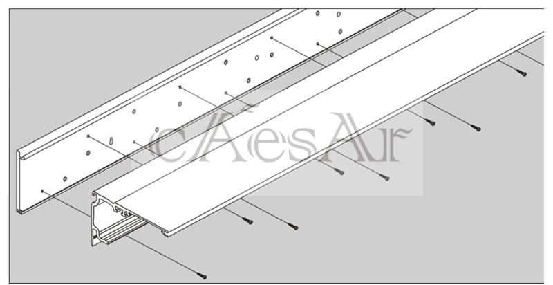 广州感应门厂家多玛自动门ES200门机安装调试图片