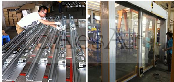 广州哪有自动门技术专业的玻璃感应门安装厂家?