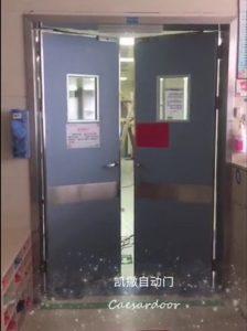【案例精选】广州某医院通道自动平开门应用案例