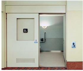卫生间自动门